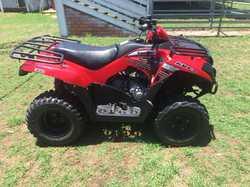 4 year old Kawaski 300 quad bike Good condition $4,400 Phone: 0427731789