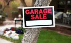 MASSIVE garage sale! Furniture, clothing, appliances, bric-a-brac + more... Will be held Sat 21st &...