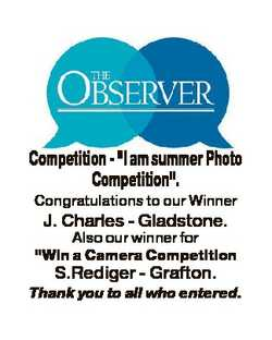 "Competition - ""I am summer Photo Competition"". Congratulations to our Winner J. Charles -..."
