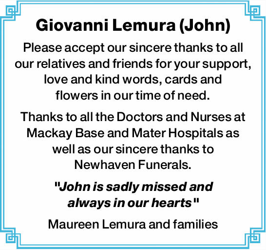 Giovanni Lemura (John) 