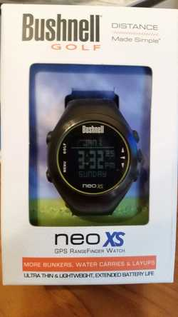 Bushnell XS Neo gps golf watch. Good condition.