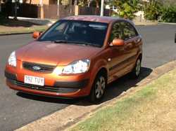 Manual 2007 KiaRio for sale RWC fully serviced log book. No rust needs attention to aircon and paint...