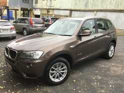 2012 BMW X3, X Drive, 20DF25, auto, 4x4, MY12, 1 owner, 1 driver, mileage 88,000kms, turbo diesel...