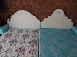 Single Bed Ensemble with bedhead x 2 $40.00 each