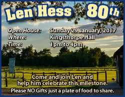 L en H e ss 6520318aa Open House: Where: Time: 80 t h Sunday 29 January, 2017 Kingsthorpe Hall 1pm t...