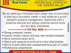 Junior/Assistant Property Management.
