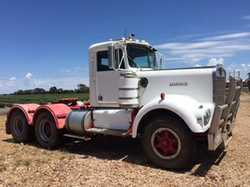 VINTAGE 1967 W model Kenworth, current machinery, sold at Bruan Park clearing sale Tara Qld, 4th...