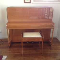PIANO 1960s German upright, iron framed, in excellent condition. New owner to move. $0, Tinana 04197...