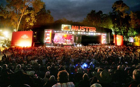 national country music muster gympie