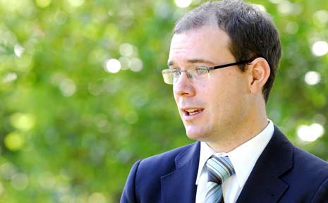 Queensland Treasurer Andrew Fraser.