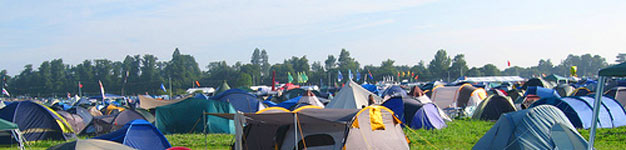 Camping out at Easterfest is the best way to enjoy the experience.
