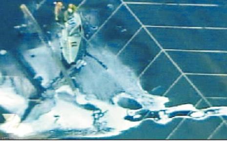 Aerial view of the Dreamworld chopper crash