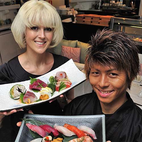 Danielle Gjestlands and Shinichi Maedas Wasabi Restaurant. Photo: Geoff Potter/n21928