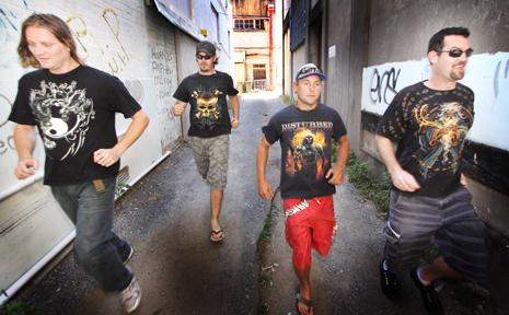 Alienhand will play at O'Dowd's Irish Pub this weekend.