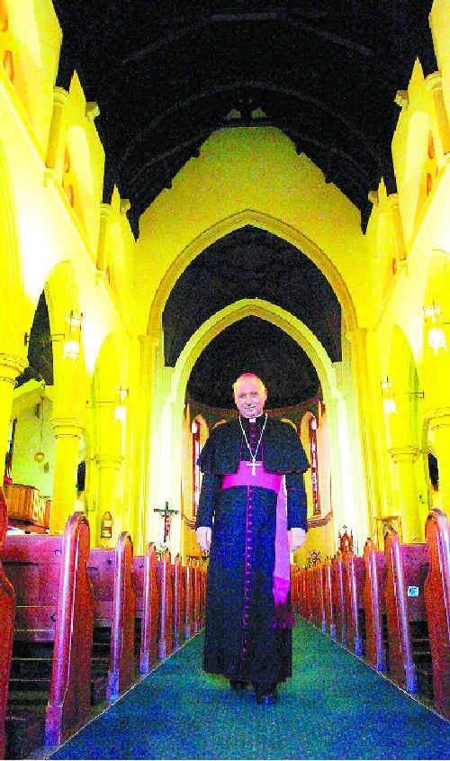 Lismore Bishop Geoffrey Jarrett.