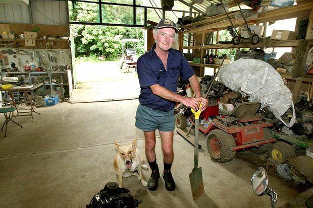 TWO years on after the January 2008 floods, Chillingham mower repairman Brian Foran is back in his clean workshop and back in business.