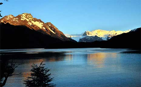 Lake Dickson in Torres del Paine National Park in Southern Chile.