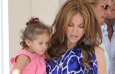 Jennifer Lopez with daughter Emme.