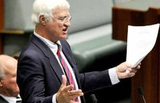 Independent MP Bob Katter is bunkered down in Canberra.