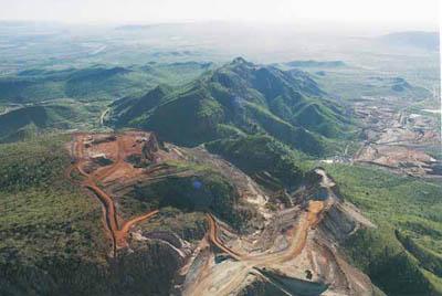 Rio Tinto's Argyle mine.