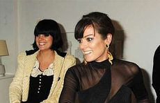 Lily Allen and Sarah Owen.