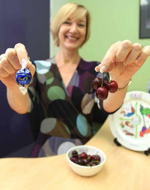 Dietician Amanda Clark.