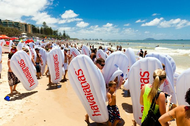 The 2011 Mooloolaba Havaianas Thong Challenge