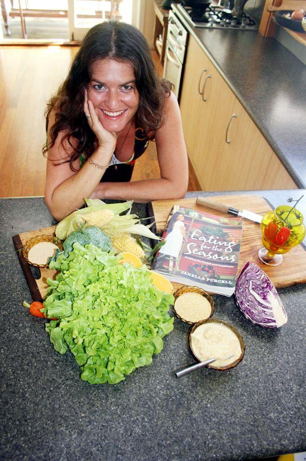 Janella Purcell at home in Binna Burra.
