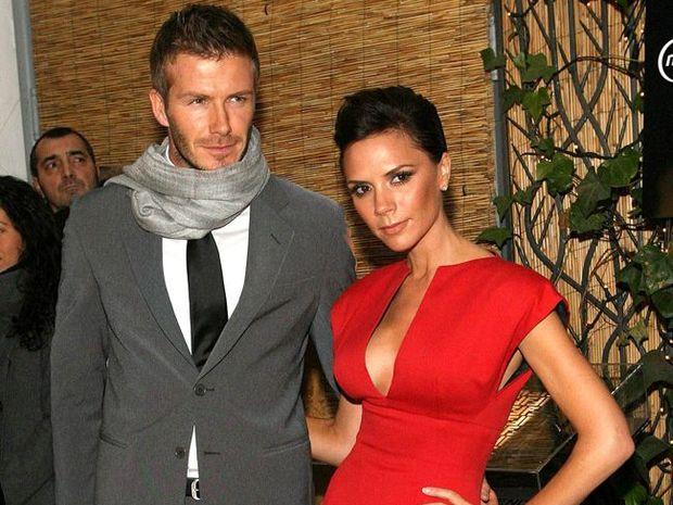 David and Victoria Beckham.
