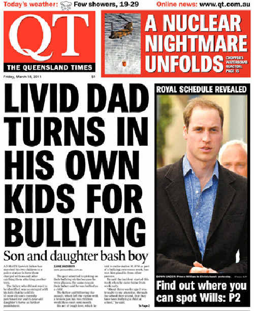 How The QT first reported the bullying story.