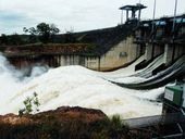 LOW flow releases from Wivenhoe Dam began today as part of Seqwater's Dam Improvement Program.