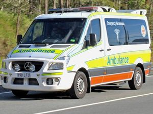 Rider transported to Rockhampton Hospital