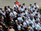 Farewell to slain officer 'Damo'