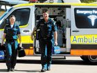 Student paramedic Alicia Grant and advanced care paramedic Grant Walsh are proud to have the community's trust.
