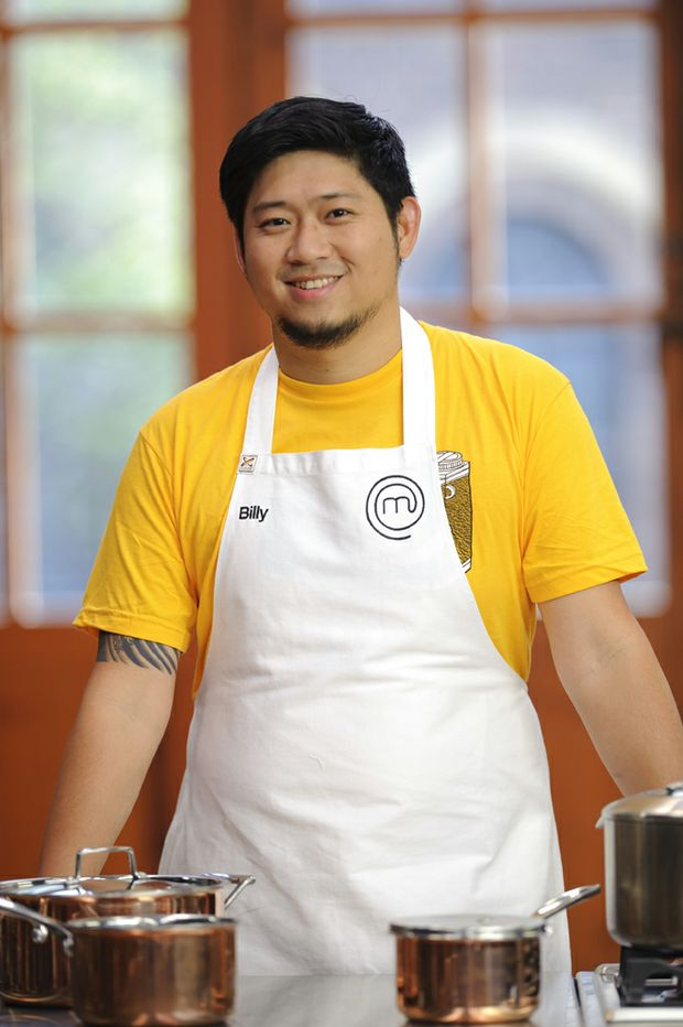 MasterChef Australia series 3 contestant Billy Law.