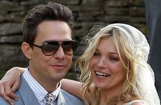 Kate Moss has married Jamie Hince from The Kills.