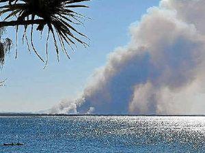 Teewah bushfire