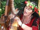 THE Brisbane Valley Multicultural Festival in Esk will again have Celtic Raven to woo with her beautiful voice and the ethereal sounds of her harp.