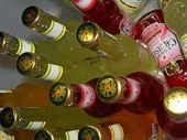 SIXTY litres of beer, vodka- based alcopops, rum, vodka and liqueur went in the bin on Saturday after it was found in the car of three under-aged boys.