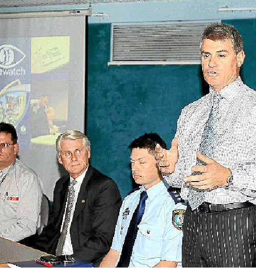 Chief Inspector Josh Maxwell.