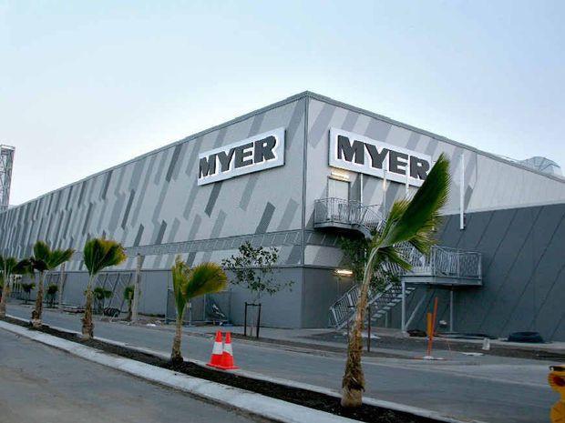 Myer Mackay store.