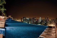 Marina Bay Sands' infinity pool and SkyPark are best avoided by those with a fear of heights.