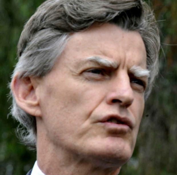 Health Minister Geoff Wilson