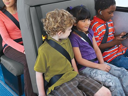 School bus crash reignites calls for seat belts to be installed.