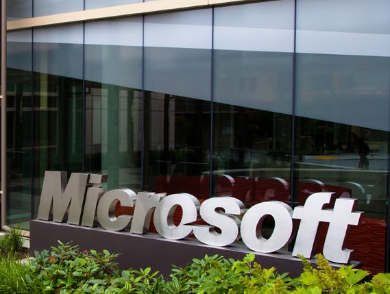 Microsoft has not suffered a quarterly loss since going public in 1986.