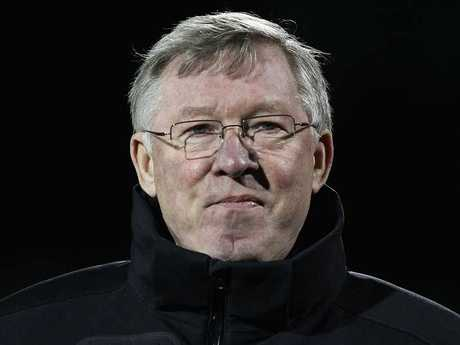 Manchester United manager Alex Ferguson.