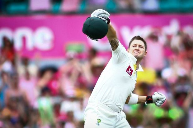 Australian captain Michael Clarke was the star of the show on day three of the second test against India at the Sydney Cricket Ground.