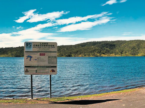 Dams closed as water spills over