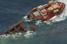 Rena's stern has sunk