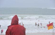 Wet weather hits the Sunshine Coast.